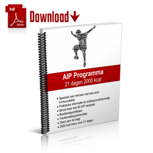 Het 21-dagen AIP Programma is te koop in de Webshop