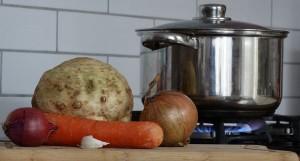 Klaar om de soep te maken!